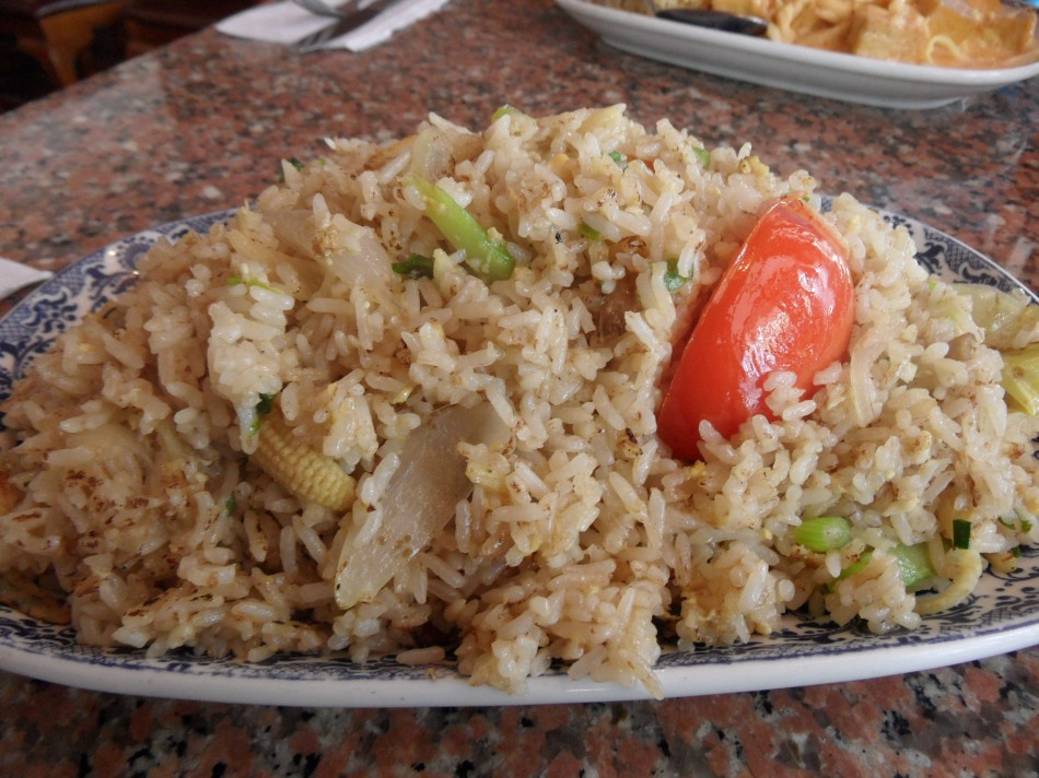 Thai Cafe Vegetable Fried Rice (Miami Lakes, FL)