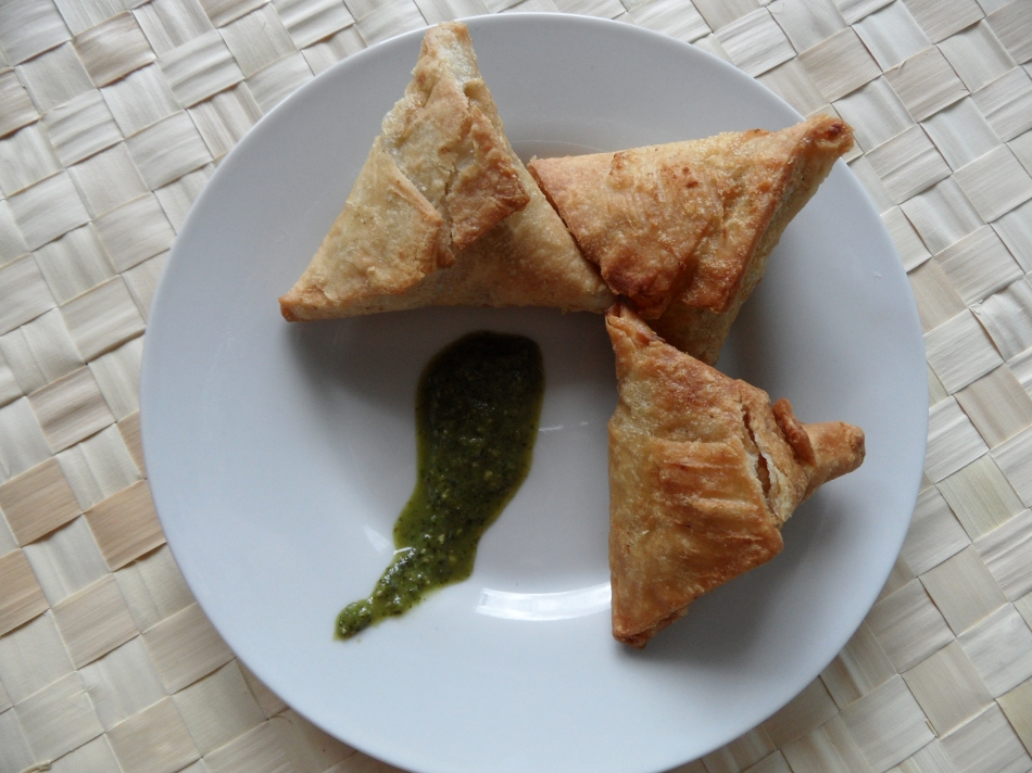 Sukhi's Vegan Samosas with Potatoes and Peas
