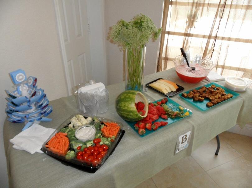Jessica's Baby Shower – Cute Vegetarian Appetizer Ideas ...