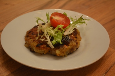 Blue Apron Potato Rosti Vegetarian