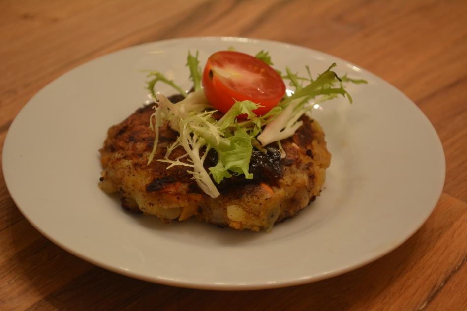 Blue Apron Potato Rosti Vegetarian